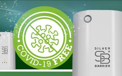 Silver Barrier®: il sanificatore a ioni d'argento certificato Covid Free